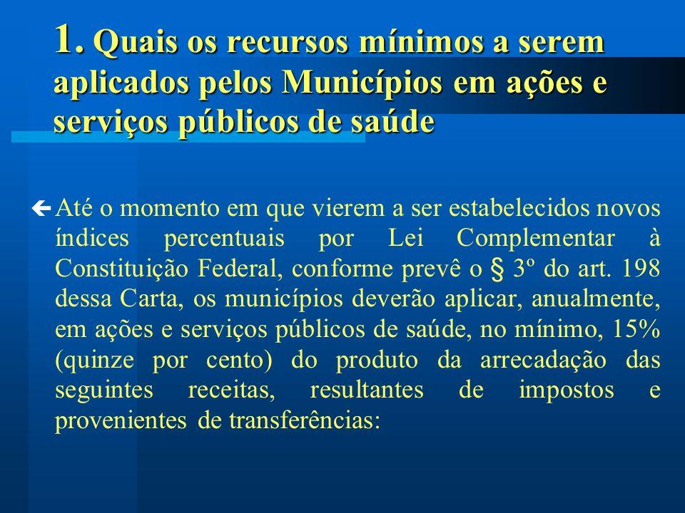 5.O que se considera como Despesa com Ações e Serviços Públicos de Saúde .