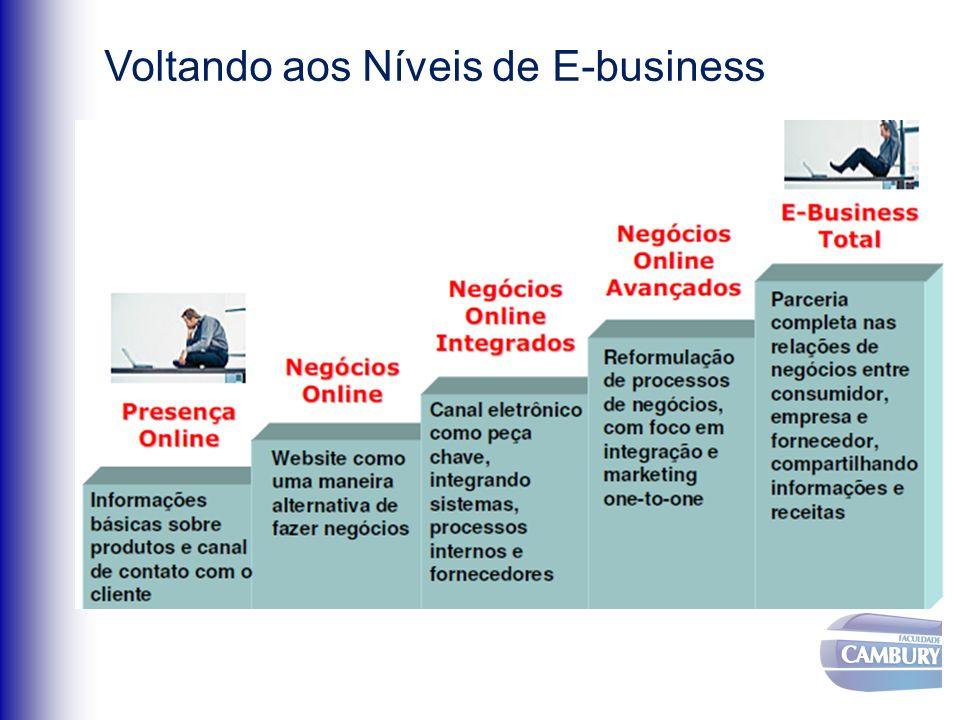 Voltando aos Níveis de E-business