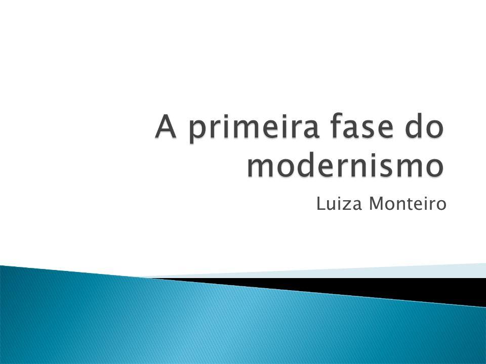O movimento modernista no Brasil contou com duas fases: a primeira foi de 1922 a 1930 e a segunda de 1930 a 1945.