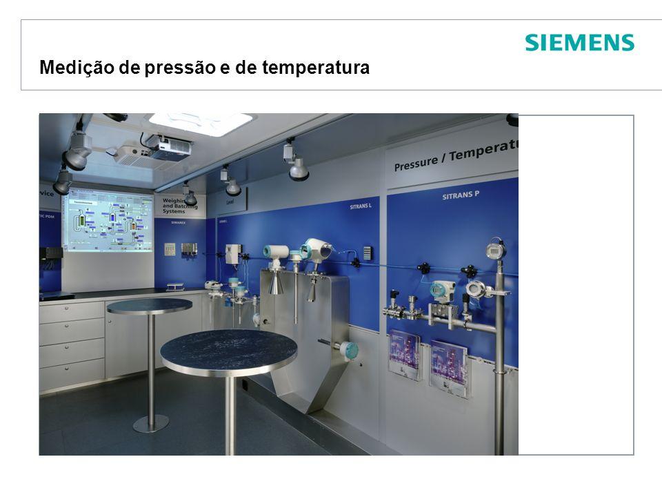 Protection notice / Copyright notice Medição de pressão e de temperatura