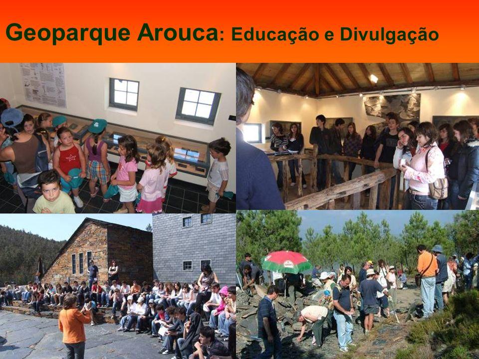 Um Centro para a protecção, promoção e divulgação da Paleontologia Geoparque Arouca : Educação e Divulgação