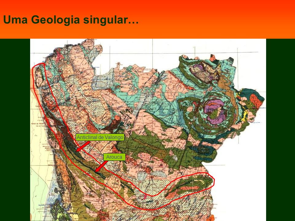 Minas de Rio de Frades Geosítios relevantes do Geoparque Arouca