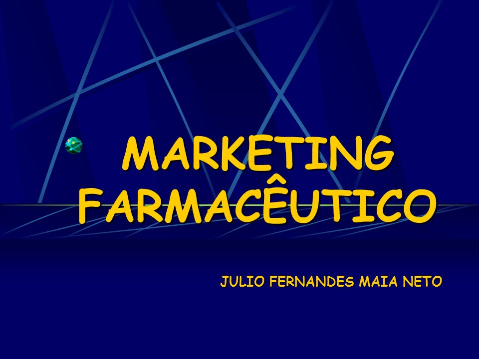 MARKETING FARMACÊUTICO JULIO FERNANDES MAIA NETO