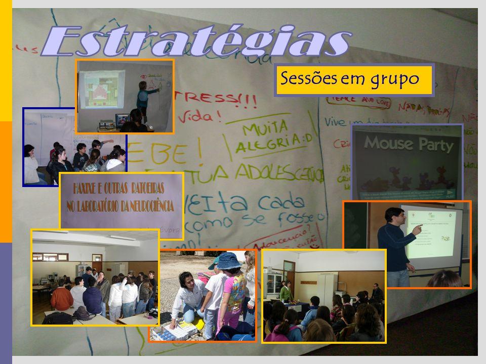 Sessões em grupo