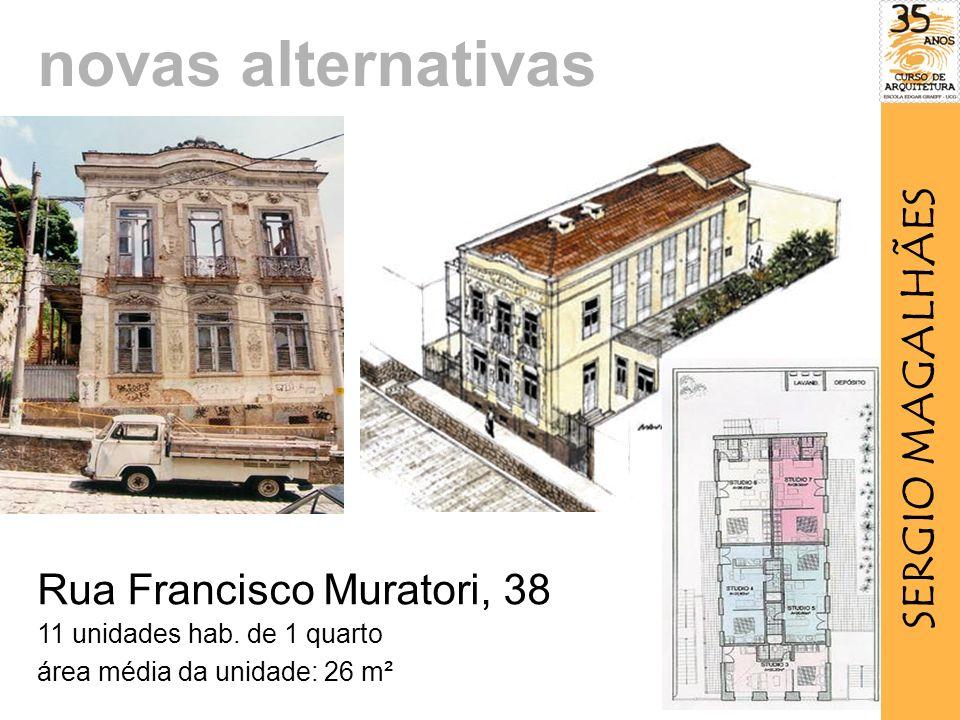 Rua Francisco Muratori, 38 11 unidades hab.