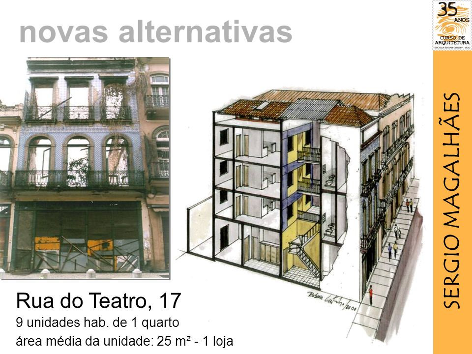 Rua do Teatro, 17 9 unidades hab.