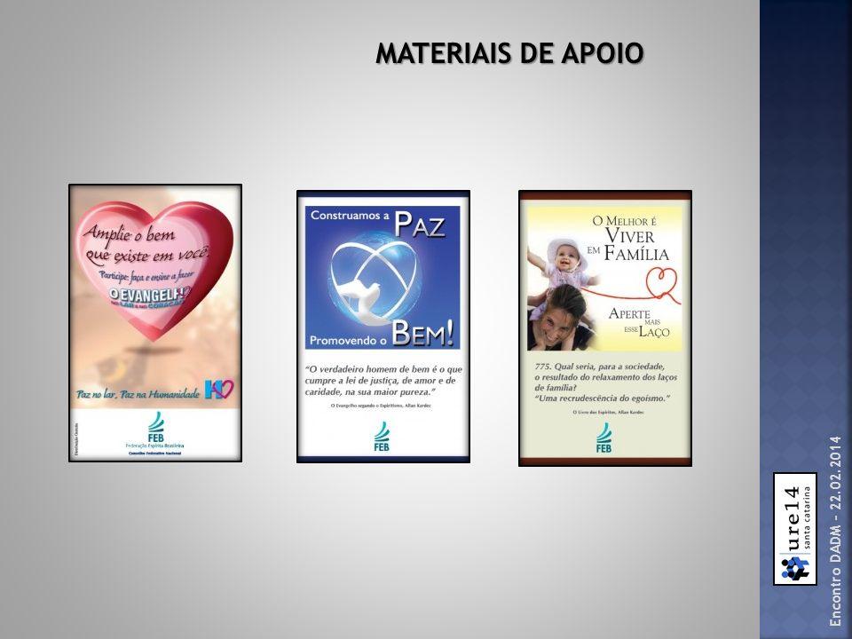 Encontro DADM – 22.02.2014 MATERIAIS DE APOIO
