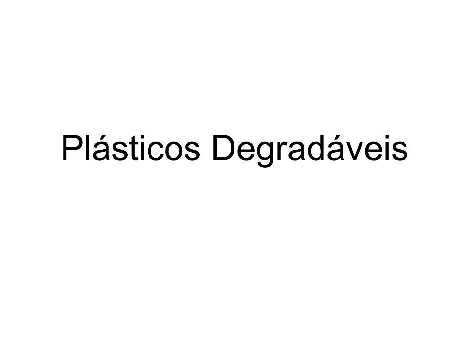 Plásticos Degradáveis