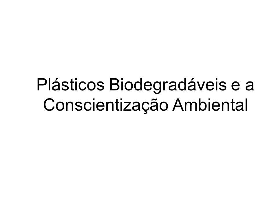 Plásticos Biodegradáveis e a Conscientização Ambiental