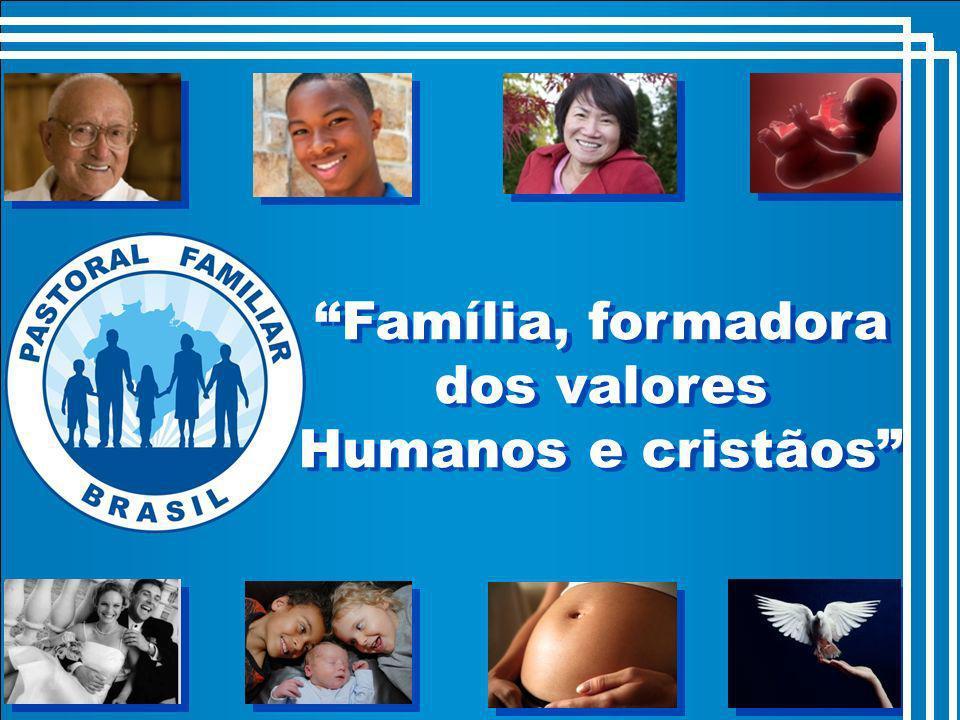 Família, formadora dos valores Humanos e cristãos
