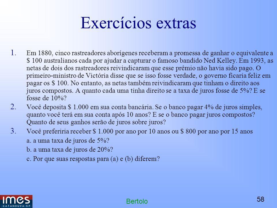 58 Bertolo Exercícios extras 1.
