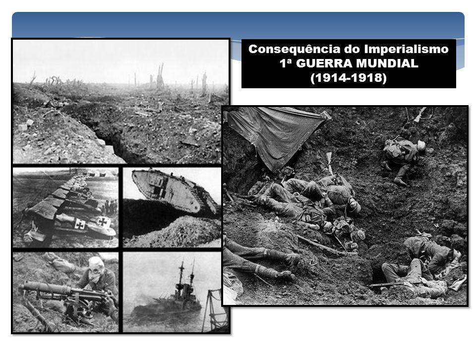 Consequência do Imperialismo 1ª GUERRA MUNDIAL (1914-1918)