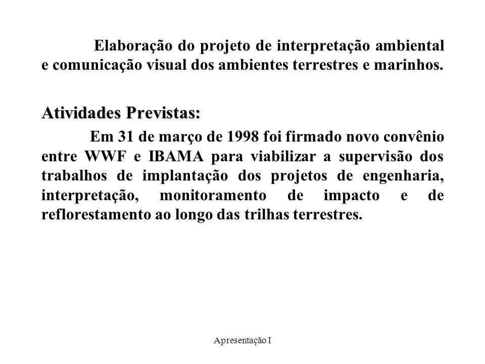 Apresentação I Ecoturismo em Silves ----------------------------------------------------------------------Descrição: Desenvolvimento de um modelo de ecoturismo de base comunitária para a Amazônia.