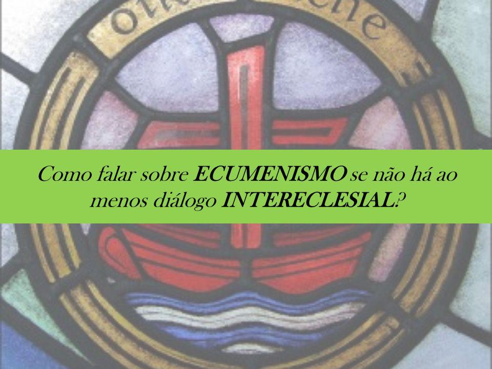Por que o ECUMENISMO é um movimento MINORITÁRIO no cristianismo brasileiro?