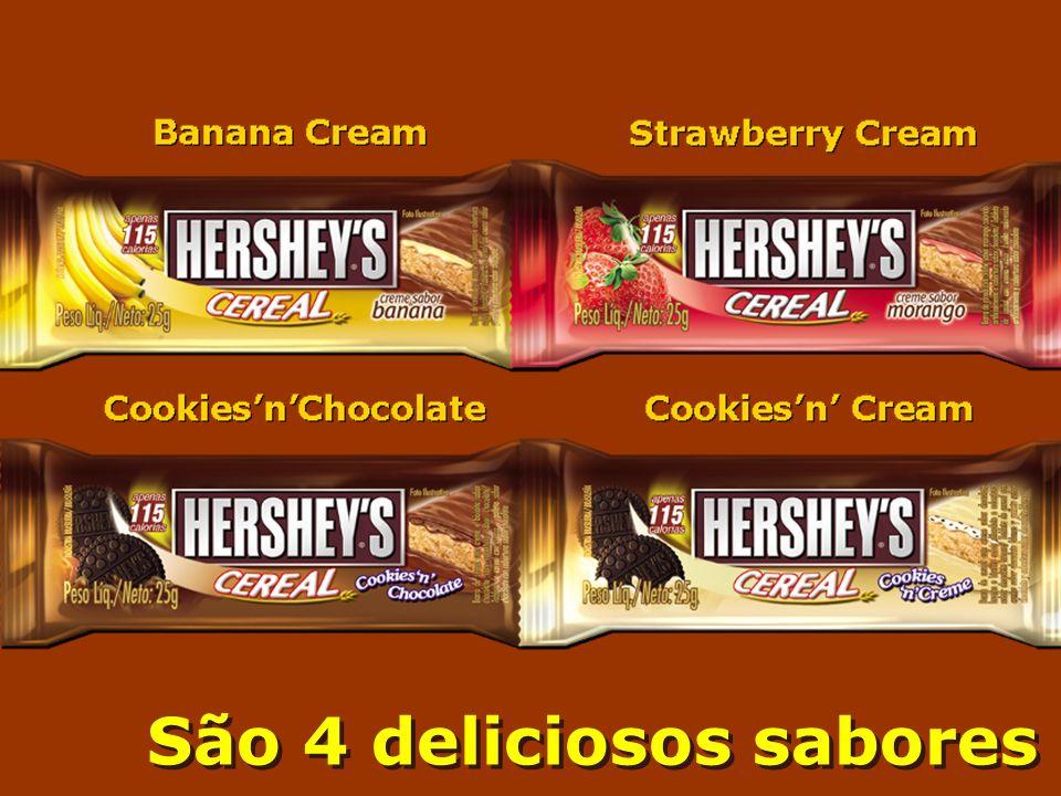 São 4 deliciosos sabores São 4 deliciosos sabores