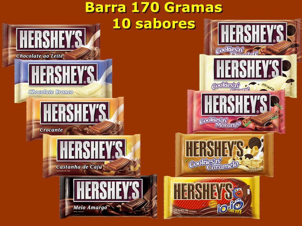 Barra 170 Gramas 10 sabores Barra 170 Gramas 10 sabores