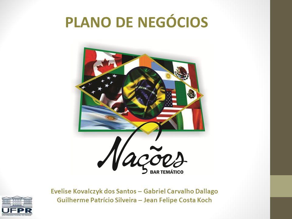 PLANO DE NEGÓCIOS Evelise Kovalczyk dos Santos – Gabriel Carvalho Dallago Guilherme Patrício Silveira – Jean Felipe Costa Koch