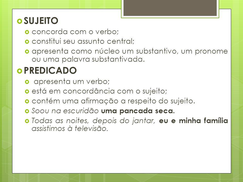 VOCATIVO (Cont.) É constituído por um nome ou expressão nominal.