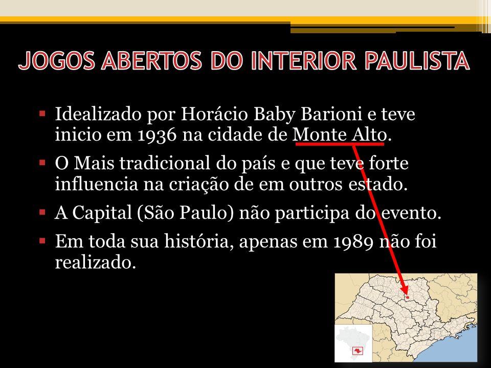Barioni e teve Idealizado por Horácio Baby Barioni e teve inicio em 1936 na cidade de Monte Alto.
