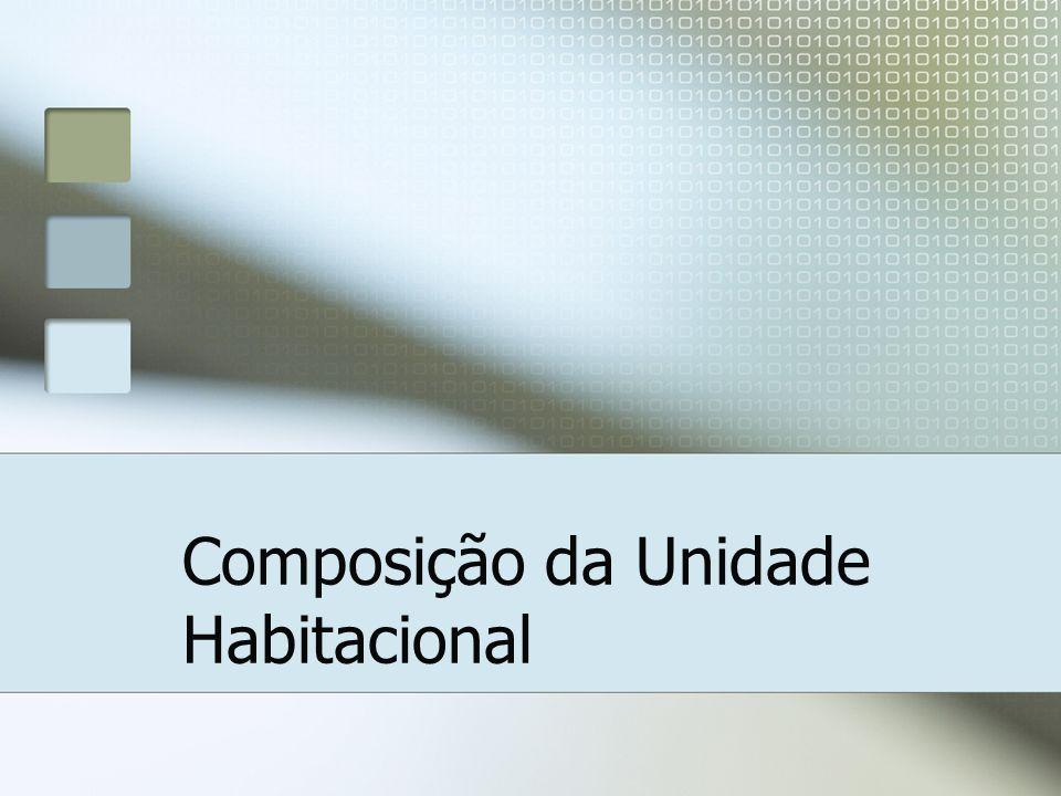 Composição da Unidade Habitacional