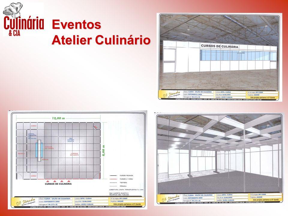 Eventos Atelier Culinário