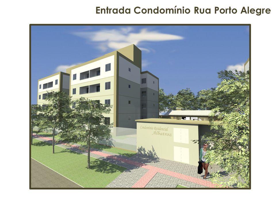 Entrada Condomínio Rua Porto Alegre