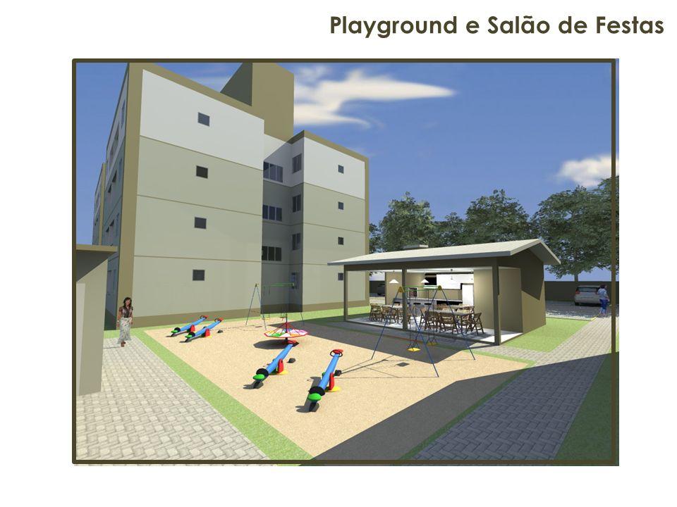 Playground e Salão de Festas