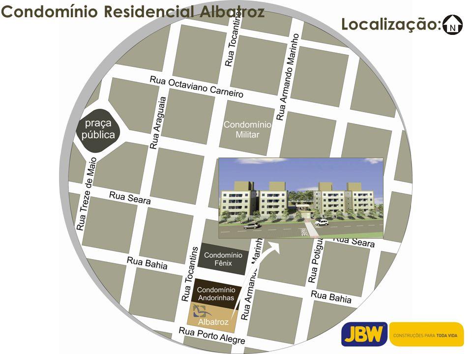 Condomínio Residencial Albatroz O Condomínio Formado por 04 blocos de 04 pavimentos.