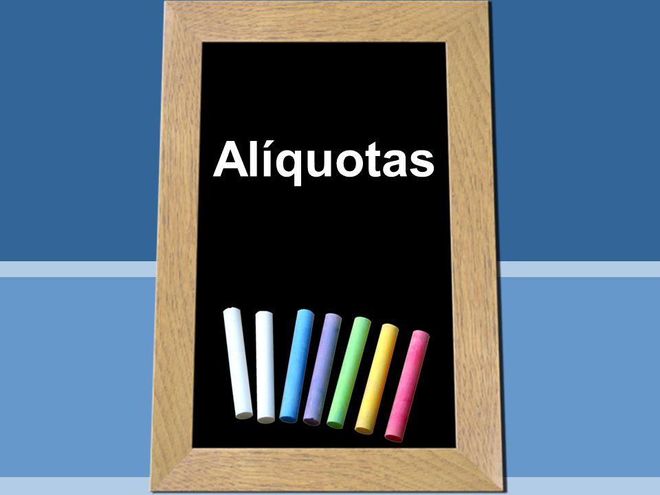 Alíquotas