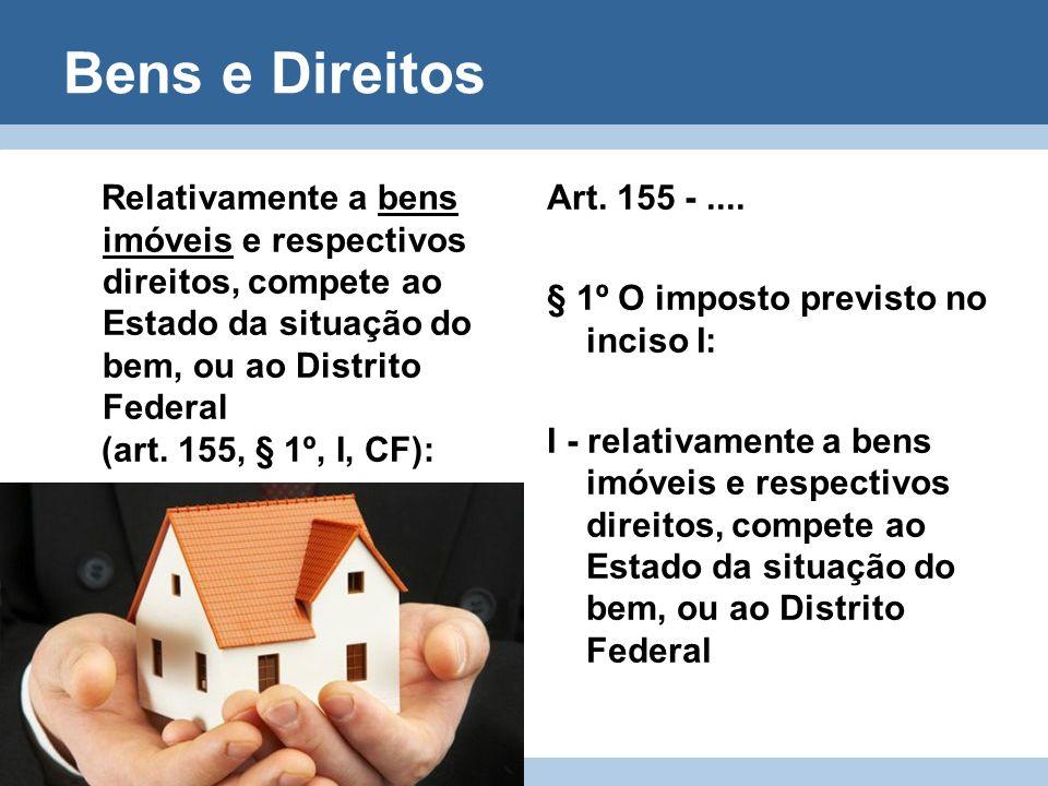 São isentos (imunes) do ITCD: Art.184 -......