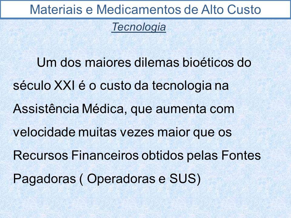 Materiais e Medicamentos de Alto Custo OPERADORA CRITÉRIOS 2.