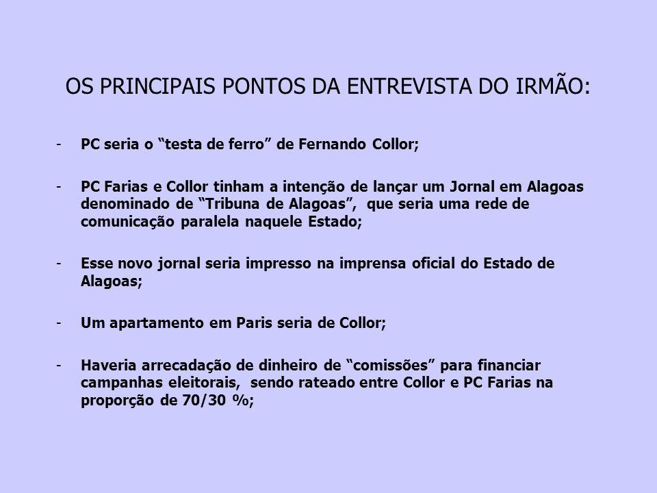 26/05/1992 O Presidente Collor rebate, em rede nacional de TV, as acusações de seu irmão.