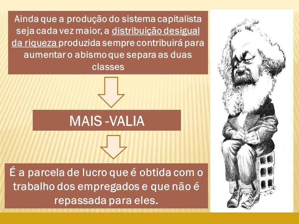 arnaldolemos@uol.com.br Ainda que a produção do sistema capitalista seja cada vez maior, a distribuição desigual da riqueza produzida sempre contribui