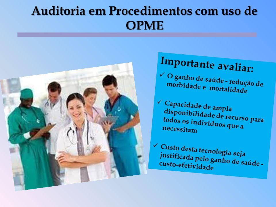 Verificar as especialidades que utilizam OPME em seus diversos procedimentos ; Estudar o perfil de cada cirurgia realizada e a quantidade média de OPME utilizada e seu preço em pelo menos 03 fornecedores; Preparar planilha de negociação contendo a quantidade média de OPME utilizado por tipo de cirurgia; Selecionar as equipes que irão realizar os procedimentos com OPME de acordo com os protocolos pré estabelecidos ; Verificar as especialidades que utilizam OPME em seus diversos procedimentos ; Estudar o perfil de cada cirurgia realizada e a quantidade média de OPME utilizada e seu preço em pelo menos 03 fornecedores; Preparar planilha de negociação contendo a quantidade média de OPME utilizado por tipo de cirurgia; Selecionar as equipes que irão realizar os procedimentos com OPME de acordo com os protocolos pré estabelecidos ; Pontos importantes nas OPME´s - PRESTADOR 8