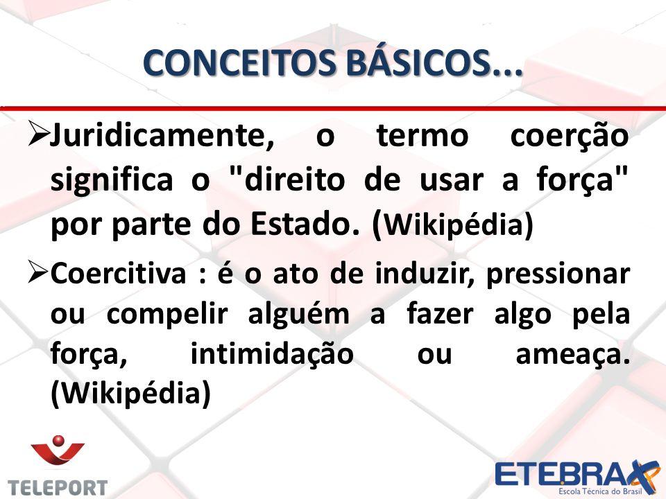 CONCEITOS BÁSICOS...