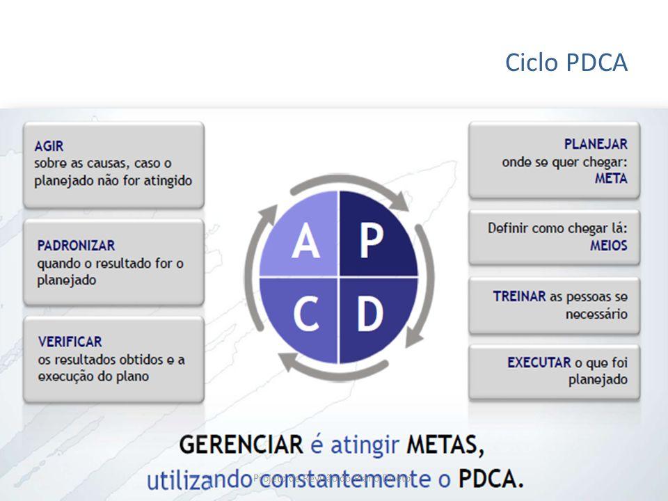 Ciclo PDCA Projeto de Revisão do Plano Diretor