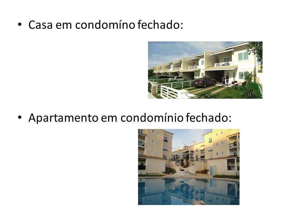 Casa em condomíno fechado: Apartamento em condomínio fechado:
