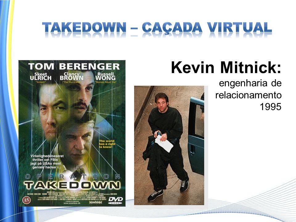 Kevin Mitnick: engenharia de relacionamento 1995