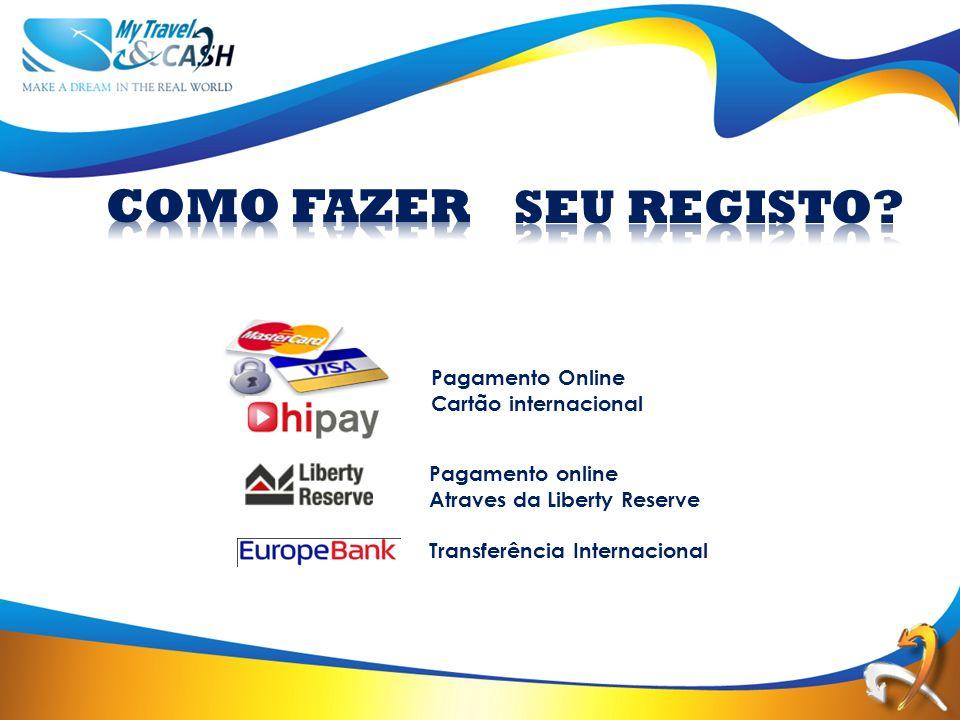 Pagamento Online Cartão internacional Pagamento online Atraves da Liberty Reserve Transferência Internacional