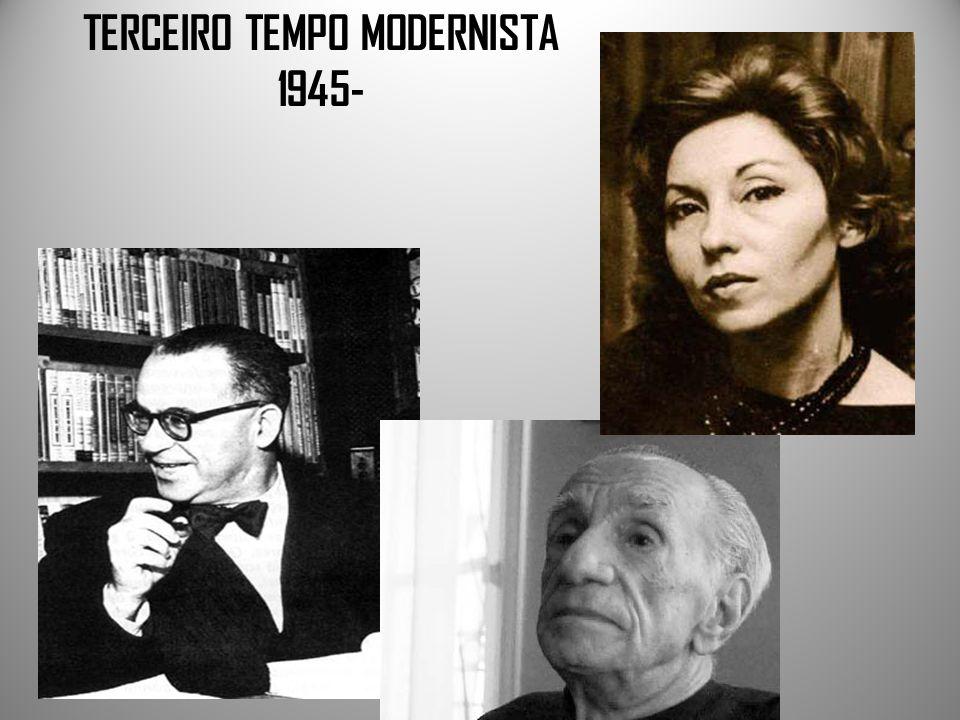 TERCEIRO TEMPO MODERNISTA 1945-