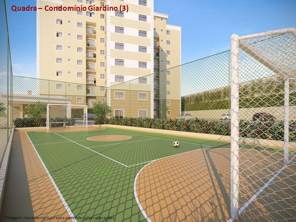 Quadra – Condomínio Giardino (3) *Imagem meramente ilustrativa podendo sofrer alterações.