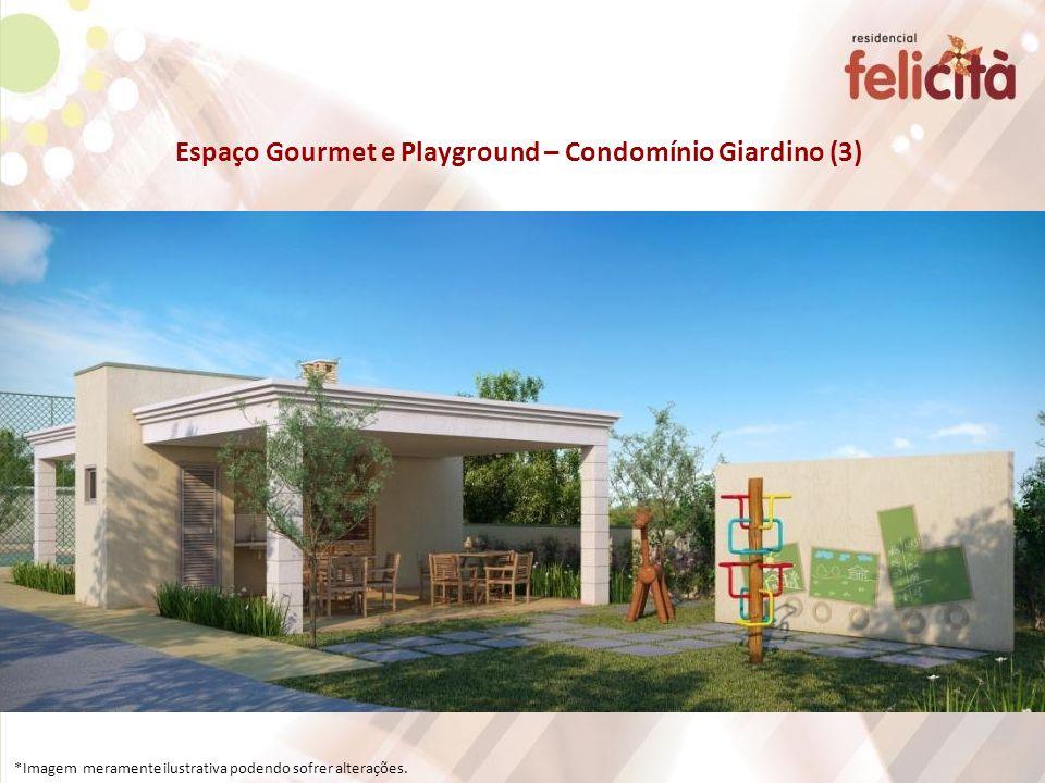 Espaço Gourmet e Playground – Condomínio Giardino (3) *Imagem meramente ilustrativa podendo sofrer alterações.