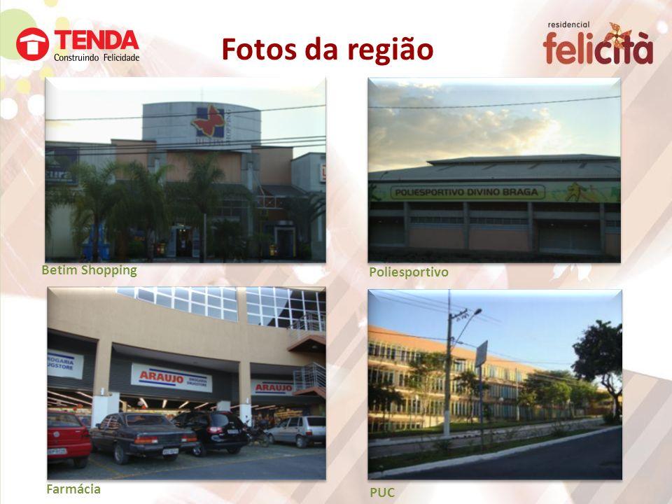 Betim Shopping Farmácia Fotos da região Poliesportivo PUC