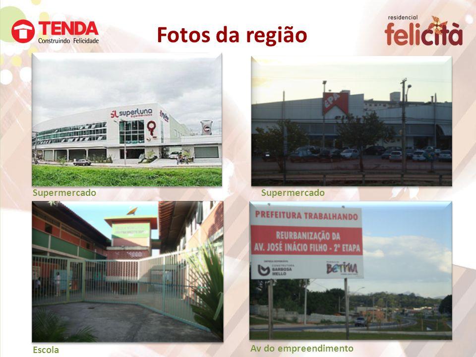 Supermercado Escola Fotos da região Supermercado Av do empreendimento