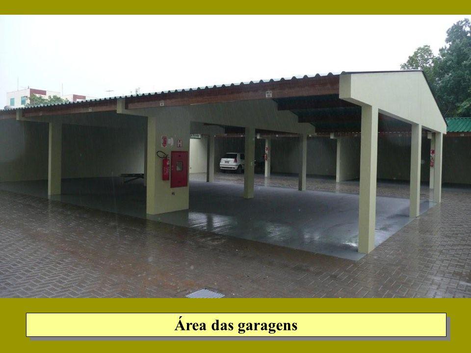 Área das garagens