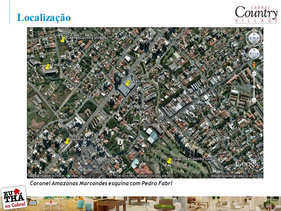 Localização Coronel Amazonas Marcondes esquina com Pedro Fabri