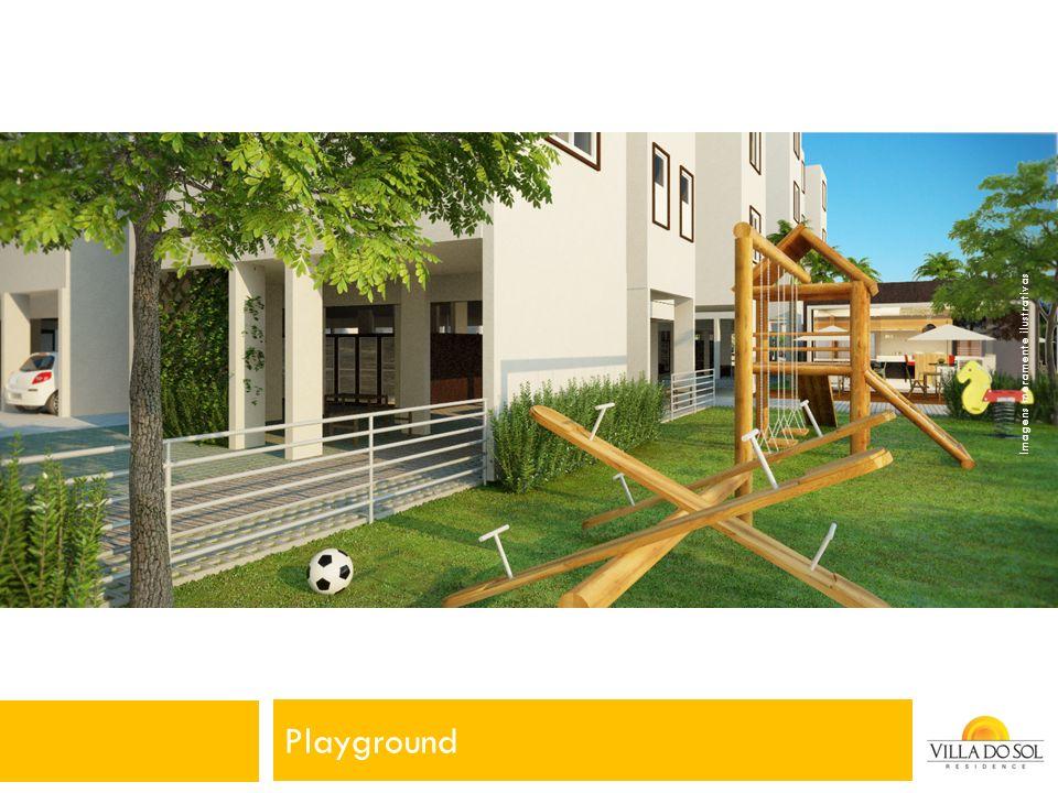 Playground Imagens meramente ilustrativas.