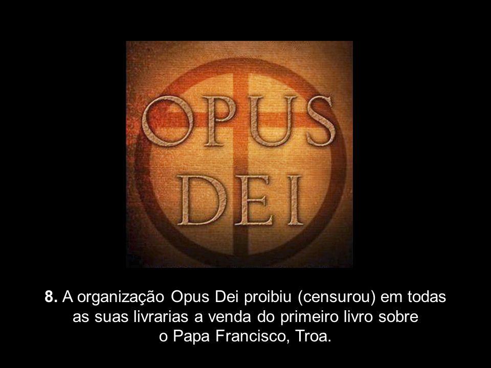 7. Acusações ao Papa Francisco de ignorar as regras e as normas da Igreja Católica Romana porque, como Papa, age sem fazer consultas ou pedir permissã