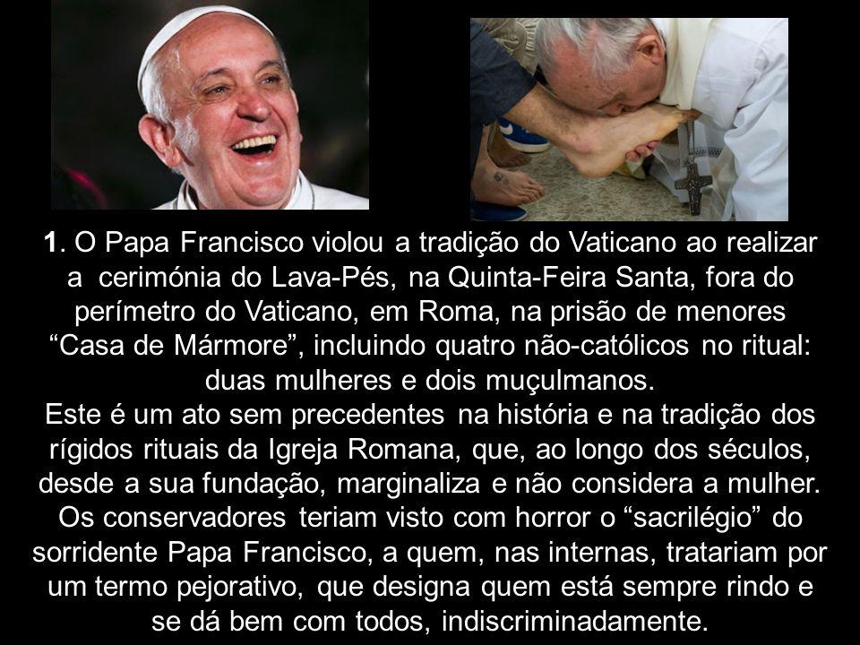 Rumores que circulam entre a comunidade da inteligência em Roma, Itália, indicariam que os setores conservadores radicais da Igreja Católica Romana la