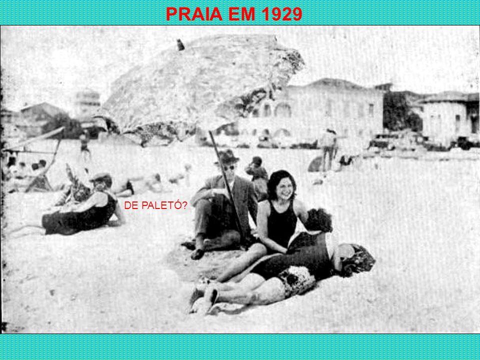 PRAÇA DO LIDO - 1922 COPACABANA PALACE EM CONSTRUÇÃO FOTO TIRADA DA JANELA DO APARTAMENTO DE UM GRANDE AMIGO MEU